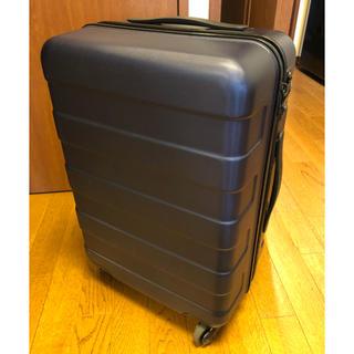 ムジルシリョウヒン(MUJI (無印良品))の『わっず様専用』無印良品スーツケース 33L ネイビー (スーツケース/キャリーバッグ)