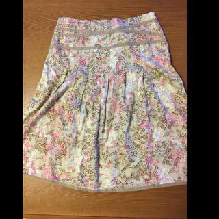 マーブルインク(marble ink)の最終値下げ☆美品☆マーブルインクのスカート(ひざ丈スカート)