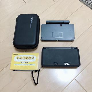 ニンテンドー3DS(ニンテンドー3DS)の3DSブラック(どうぶつの森ダウンロード版インストール済)(家庭用ゲームソフト)