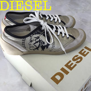 ディーゼル(DIESEL)のディーゼル かっこいい ゴールド 25 スニーカー(スニーカー)