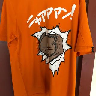 シマムラ(しまむら)の鴻池剛 猫のぽんたのニャァァンTシャツLL(Tシャツ/カットソー(半袖/袖なし))