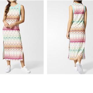 アディダス(adidas)の新品 アディダスバタフライワンピース(ロングワンピース/マキシワンピース)