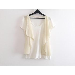 カーライフ(carlife)のcarlife カーライフ ドレープ切替 Tシャツ(Tシャツ(半袖/袖なし))