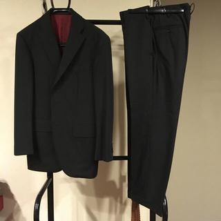 ロロピアーナ(LORO PIANA)のロロピアーナ ブラックスーツ(セットアップ)