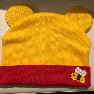 ディズニー(Disney)のディズニーランドで買ったプーさんのニット帽☆(ニット帽/ビーニー)