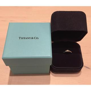 ティファニー(Tiffany & Co.)のティファニー★ハーモニー★ダイヤモンドリング★サイドストーン★美品サイズ直し可(リング(指輪))
