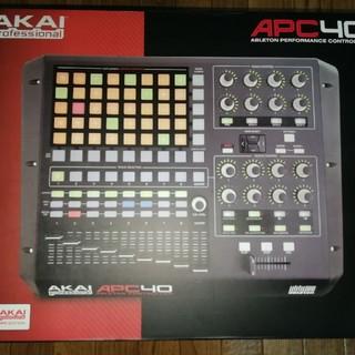 AKAI APC40(MIDIコントローラー)