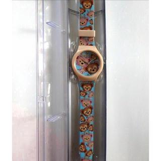 ダッフィー(ダッフィー)の香港ディズニー購入品!新品未使用!ダッフィーシェリーメイツムツム腕時計(腕時計)