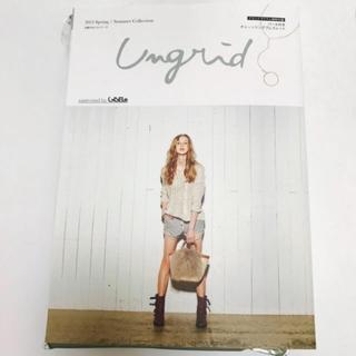 アングリッド(Ungrid)の新品 ムック本❤︎(ファッション)