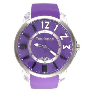 テンデンス(Tendence)のテンデンス TG131002 スリムポップ パープル ユニセックス 腕時計(腕時計)