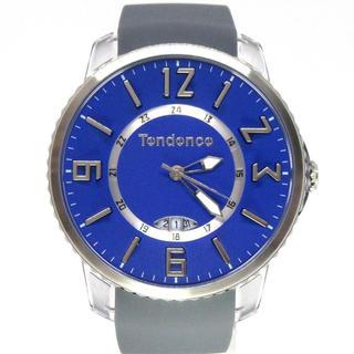 テンデンス(Tendence)のテンデンス TG131005 スリムポップ ブルー ユニセックス 腕時計(ラバーベルト)
