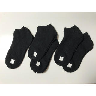 すたちゃん様専用 靴下 黒 5足セット(その他)