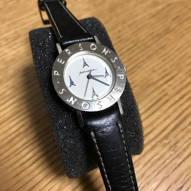 PERSON'S - パーソンズ 腕時計 26mm エッフェル塔の通販