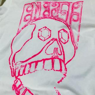 エナジー(ENERGIE)のENERGIE ドクロプリントTシャツ(Tシャツ/カットソー(半袖/袖なし))