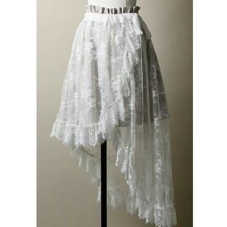 ラベルエチュード(la belle Etude)の巻きスカート付きショーパン(ショートパンツ)