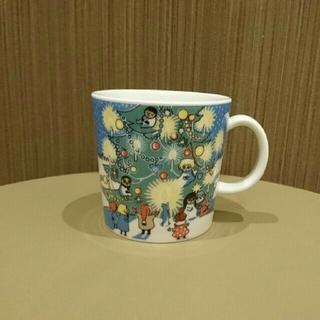 アラビア(ARABIA)のすみっコぐらし様専用 ムーミンマグ クリスマス 2011ミイ(グラス/カップ)