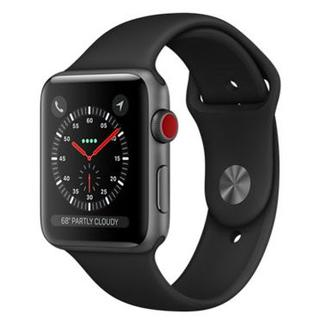 アップルウォッチ(Apple Watch)のApple Watch Series 3 GPS + Cellular(スマートフォン本体)