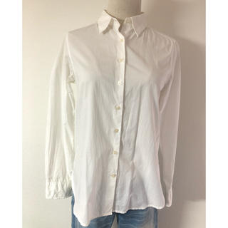ムジルシリョウヒン(MUJI (無印良品))のmasaco30様専用 無印良品 白シャツ M(シャツ/ブラウス(長袖/七分))
