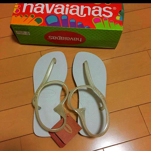 havaianas(ハワイアナス)の【新品未使用】ビーチサンダル レディースの靴/シューズ(ビーチサンダル)の商品写真
