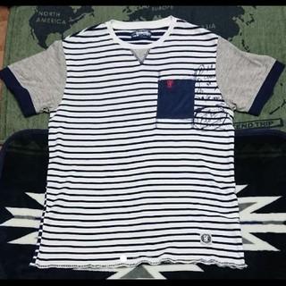 デシグアル(DESIGUAL)の特別値下げデシグアル(ボーダープリントカットソー)(Tシャツ/カットソー(半袖/袖なし))