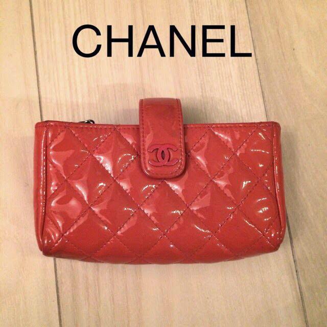 ブランド iPhone7 plus ケース 財布 | CHANEL - CHANEL パテント ポーチの通販 by LUSIS & maako's SHOP|シャネルならラクマ