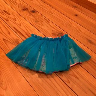 フェフェ(fafa)のfafa baby チュール花柄 スカート(スカート)