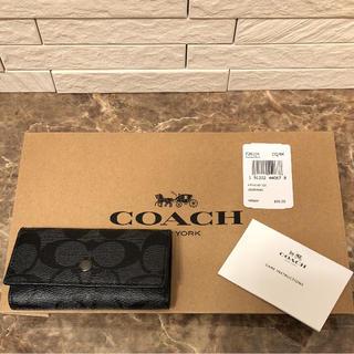 コーチ(COACH)の【aaatanman様専用の】【新品】coach コーチ キーケース(キーケース)