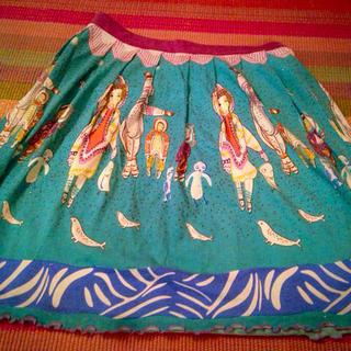 ツモリチサト(TSUMORI CHISATO)のツモリチサトスカート(ひざ丈スカート)
