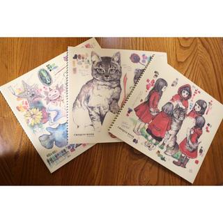 ヒグチユウコ x  ホルベイン 2016クロッキーブック 3冊セット(スケッチブック/用紙)