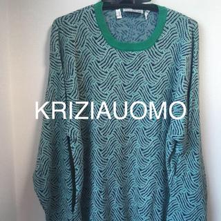クリツィア(KRIZIA)のクリツィアウオモ セーター イタリア製 KRIZIAUOMO (ニット/セーター)