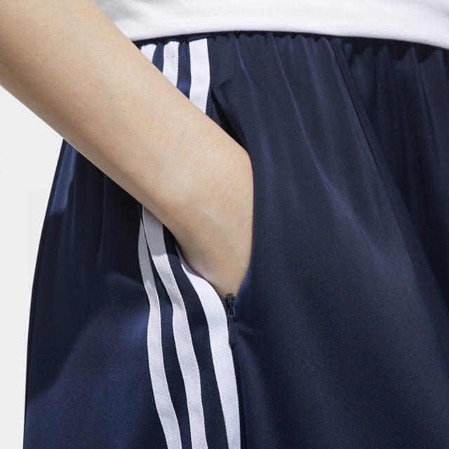 adidas(アディダス)のS ♡ BEAUTY&YOUTH ロングスカート adidas コラボ レディースのスカート(ロングスカート)の商品写真