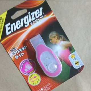 LED マグネットライト エナジャイザー energizer ピンク(ライト/ランタン)