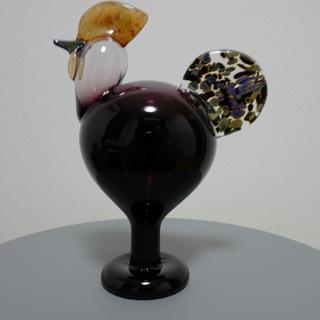 イッタラ(iittala)のOiva Toikka  Rooster Cock 1998 イッタラ(置物)