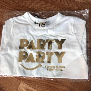 パーティチケット(PARTY TICKET)のParty Party  新品Tシャツ 100cm(Tシャツ/カットソー)