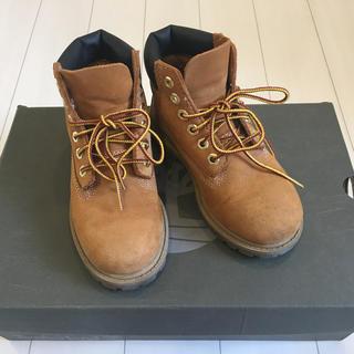 ティンバーランド(Timberland)のティンバーランド キッズ ブーツ JP17.5(ブーツ)