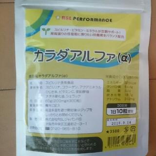 アールエスエル(RSL)のカラダアルファ 1袋(おから様専用)(その他)