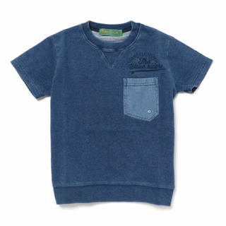 クリフメイヤー(KRIFF MAYER)のクリフメイヤー 今期 130 デニム風トップス Tシャツ(Tシャツ/カットソー)