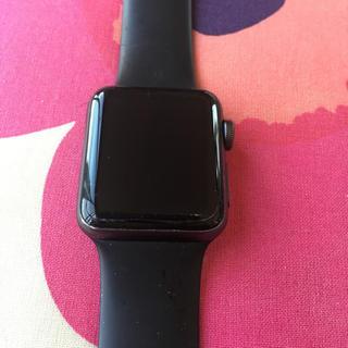 アップル(Apple)のApple Watch3 セルラーモデル 38mm(腕時計(デジタル))