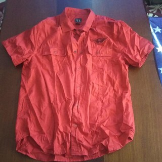 アルマーニエクスチェンジ(ARMANI EXCHANGE)のAXメンズシャツXLサイズ(シャツ)