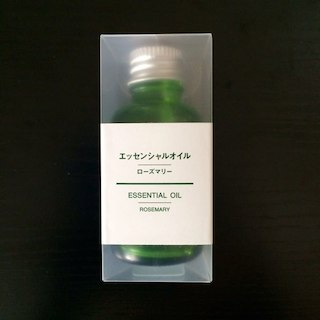 MUJI (無印良品) - 【新品 未使用】無印 ローズマリー エッセンシャルオイル 30ml