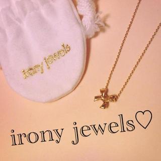 アイロニー(IRONY)のりぼん♡ネックレス(ネックレス)