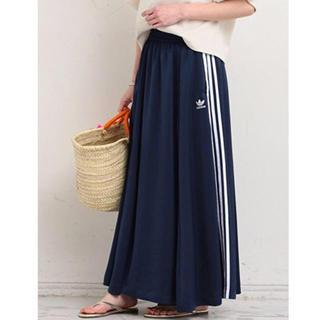 アディダス(adidas)の adidas ロングスカート L(ロングスカート)
