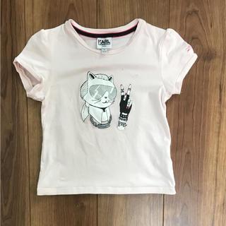 KARL LAGERFELD 子供 半袖 Tシャツ