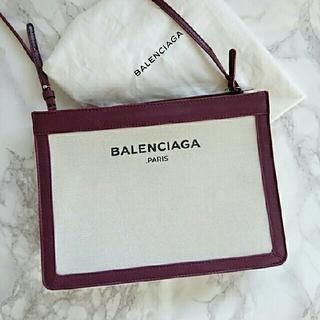 バレンシアガ(Balenciaga)の美品 BALENCIAGA ショルダー バッグ*ポシェット (ショルダーバッグ)