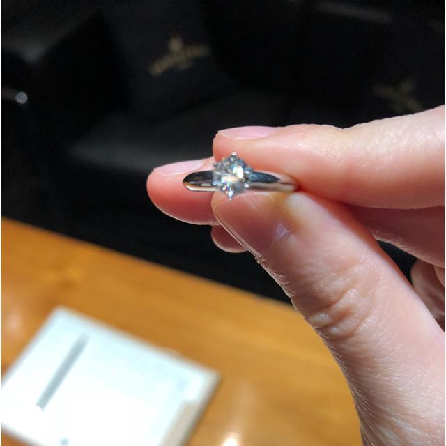 Tiffany & Co.(ティファニー)の値下げ‼️ 0.4カラット ティファニー ダイヤ リング 指輪 レディースのアクセサリー(リング(指輪))の商品写真