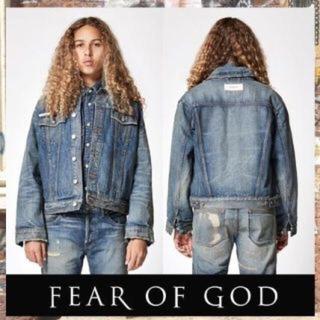 フィアオブゴッド(FEAR OF GOD)の新品 essentials デニムジャケット(Gジャン/デニムジャケット)