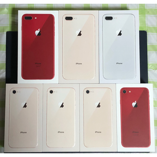 アップル(Apple)のぴろし様専用①Simフリー iPhone8&iPhone8Plus(スマートフォン本体)