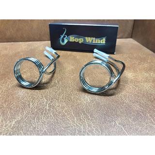 Bop Wind ワイヤーリガチャー(アルトラバー用)ニッケルプレートモデル(サックス)
