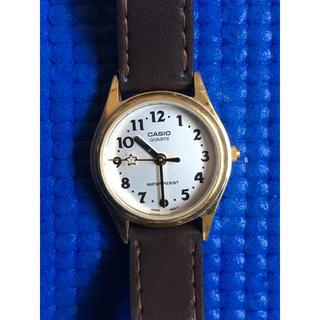 90c3d99bdc カシオ(CASIO)のカシオクオーツレディース腕時計ウォッチウォーターレジストLQ398革バンド(