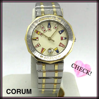 コルム(CORUM)のCORUM コルム アドミラルズカップ レディースウォッチ 腕時計(腕時計)